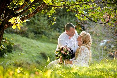 Testimonials from wedding clients